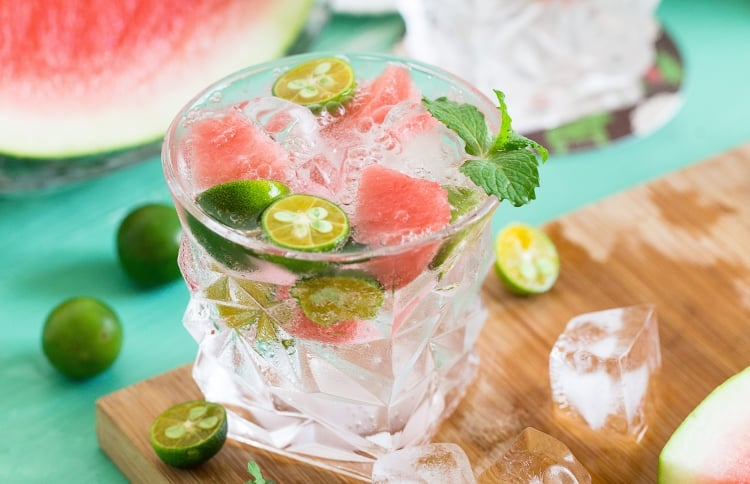 Watermelon Water To Stay Hydrated