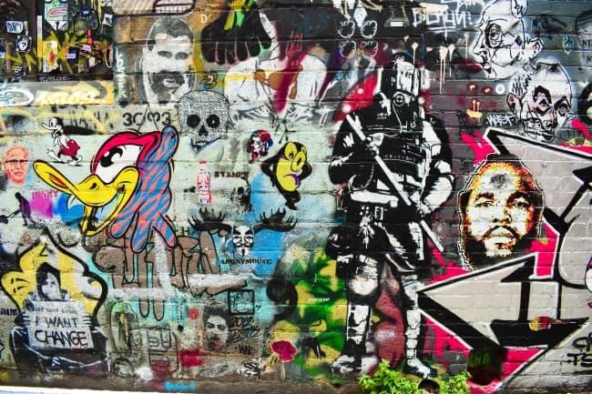 Graffiti In Colombia