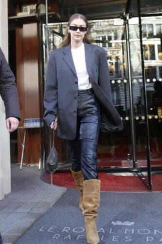 over-sized blazer style
